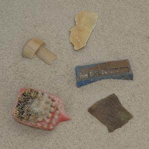 Stukjes plastic 0-2,5 cm
